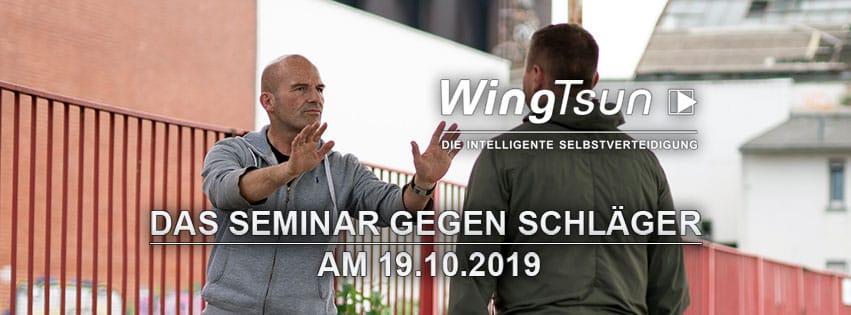 Seminar Strategie gegen Schläger am 19.10